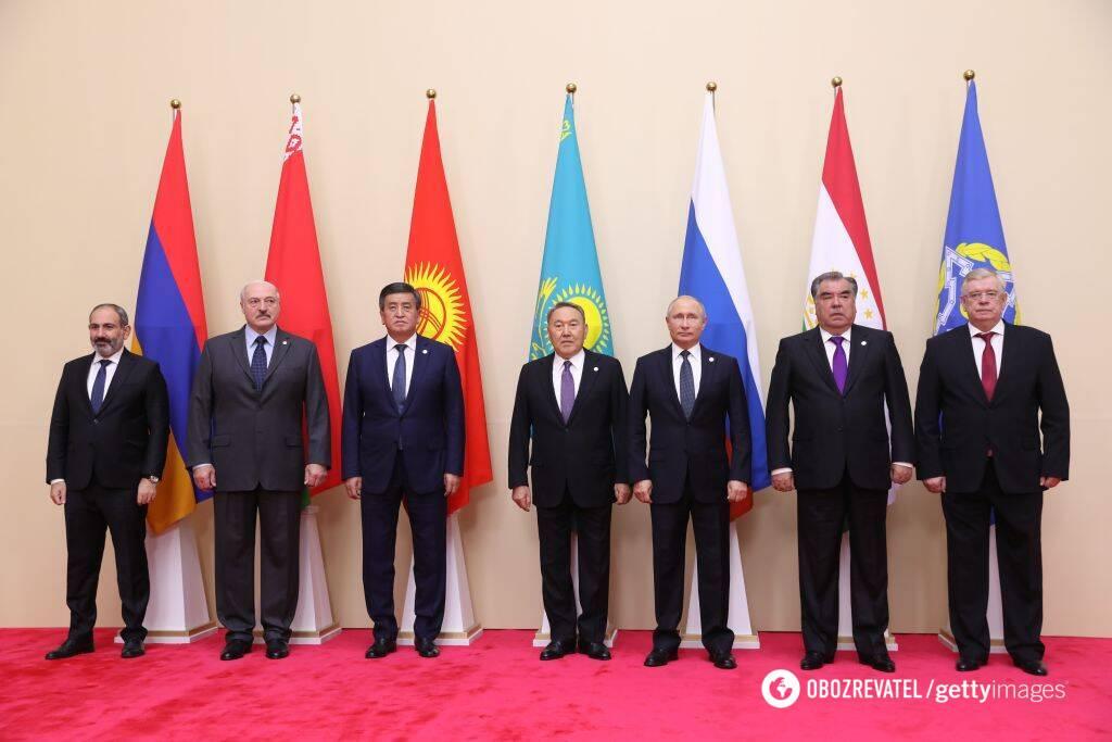 Президенты стран-участниц ОДКБ