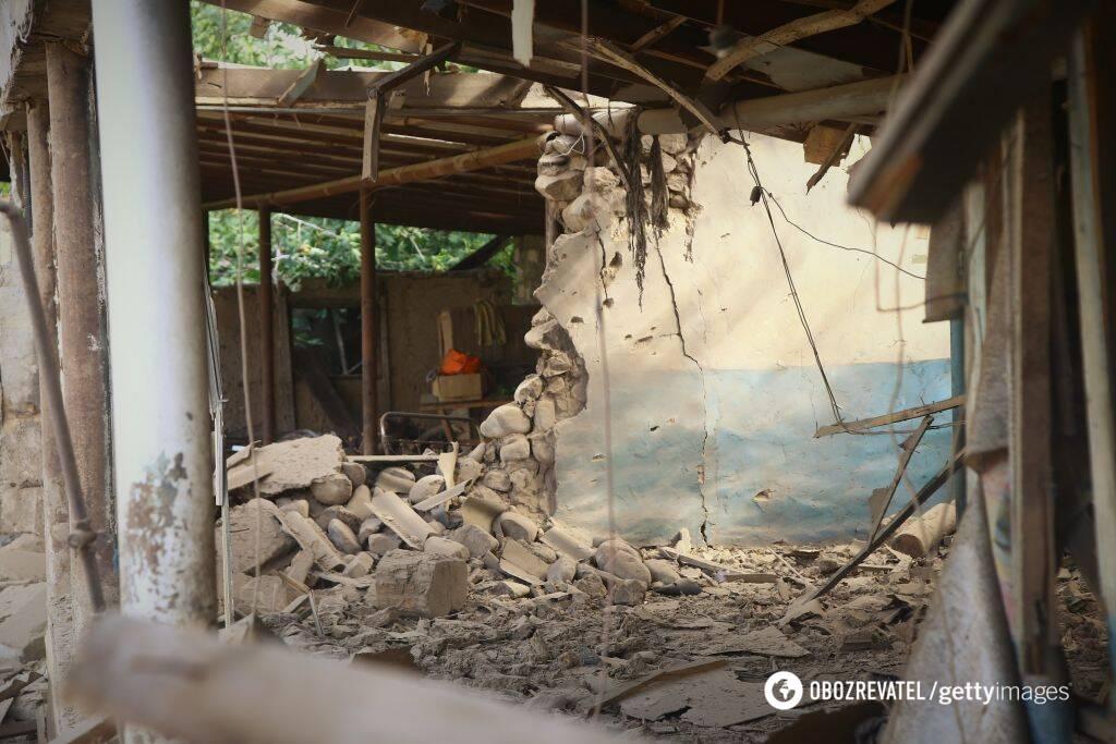 Последствия боевого конфликта на азербайджанско-армянской границе