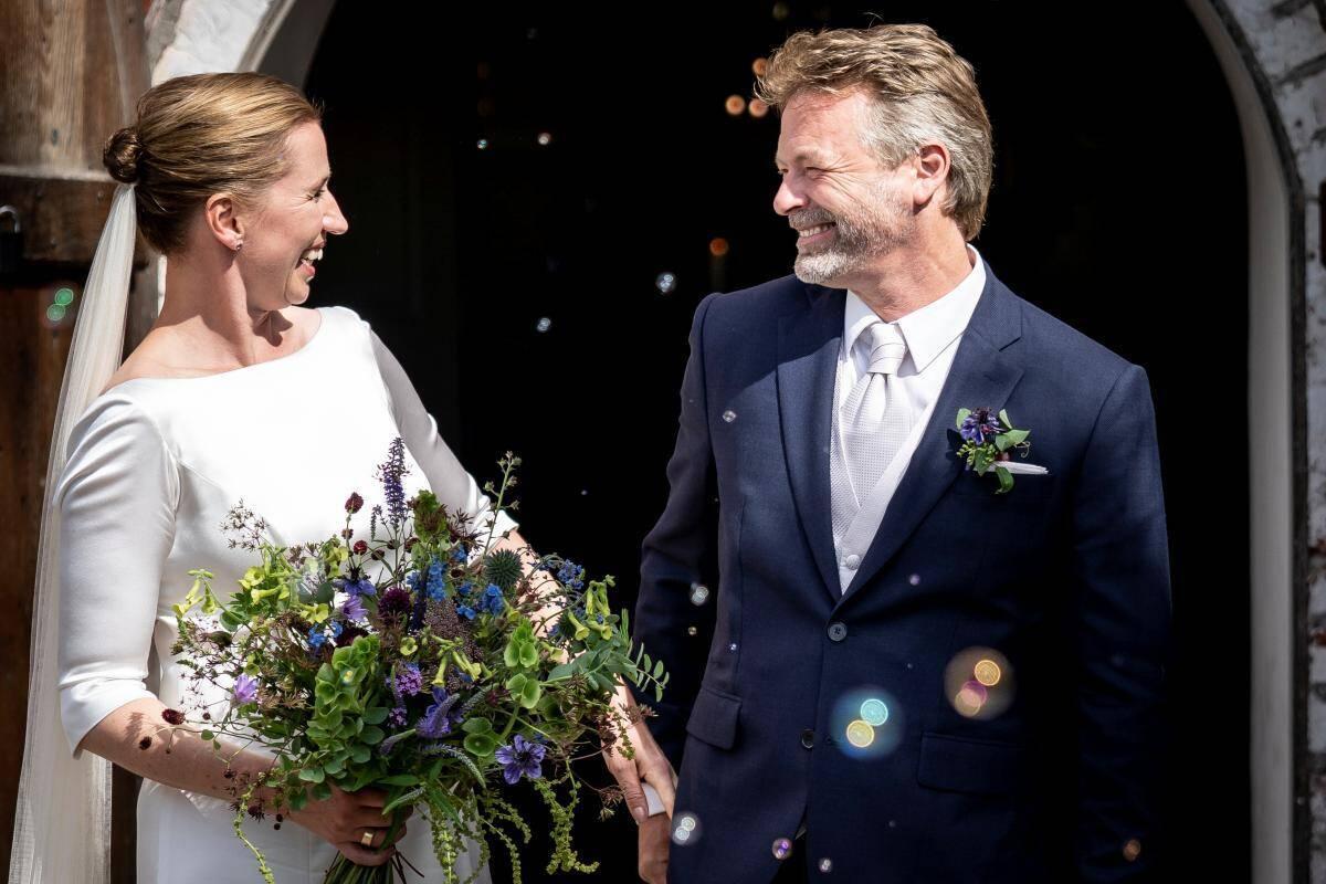 Премьер-министр Дании Метте Фредериксен вышла замуж  REUTERS