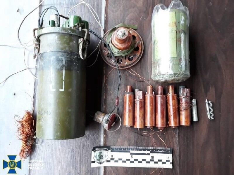 Вибуховий пристрій терористів