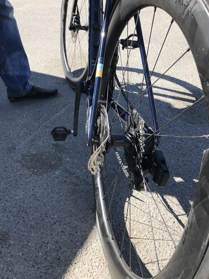 Пошкоджені велосипеди