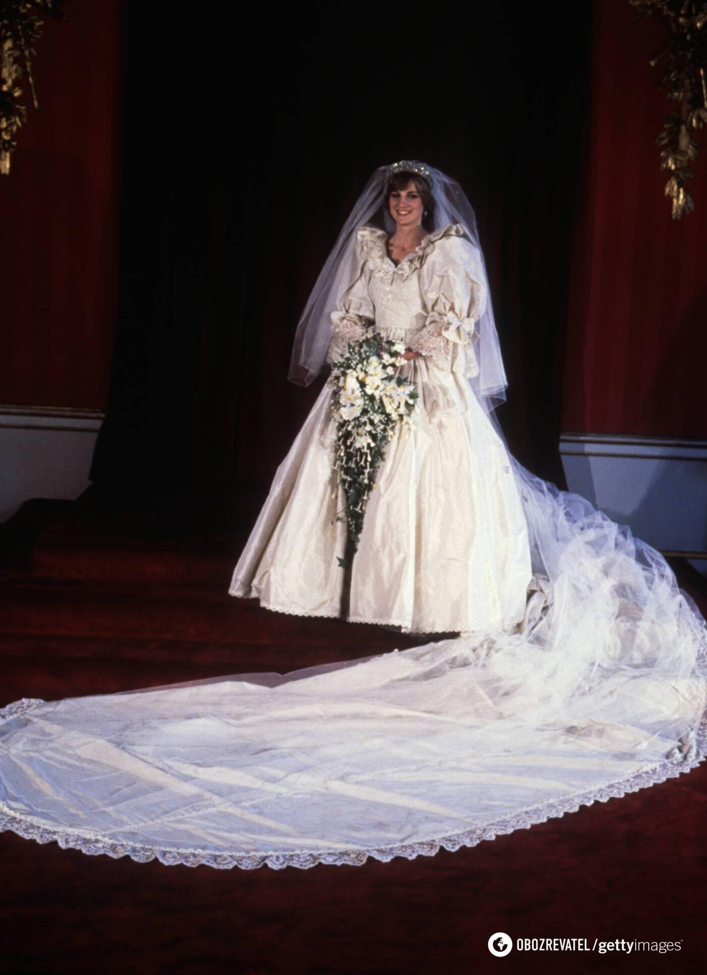 Весільна сукня принцеси Діани