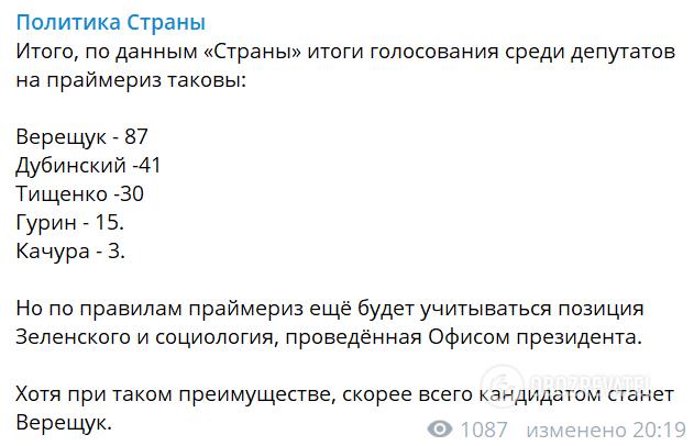 """Зеленский и """"Слуга народа"""" выбрали кандидата в мэры Киева"""