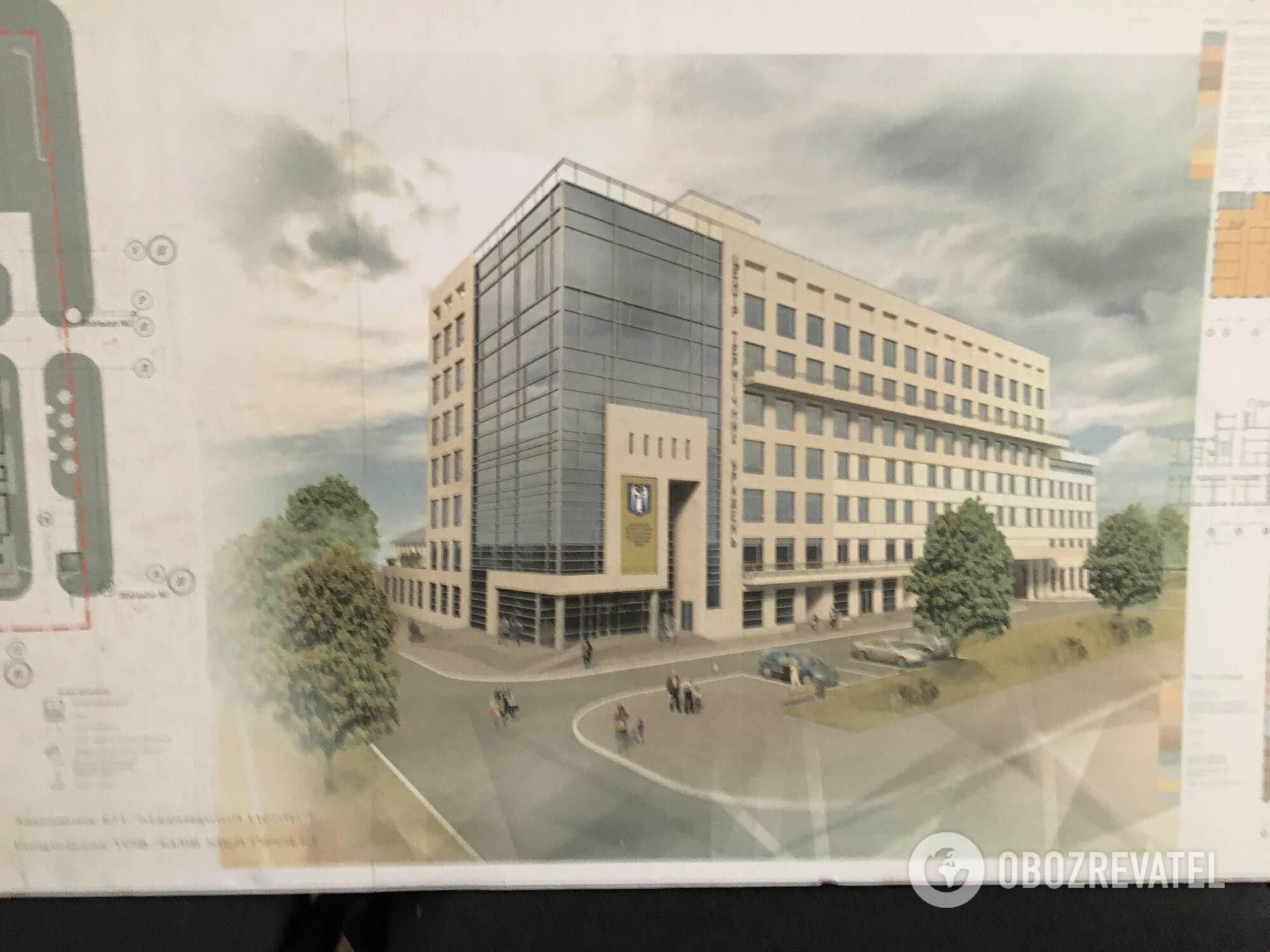 Проект нового корпуса ожогового центра
