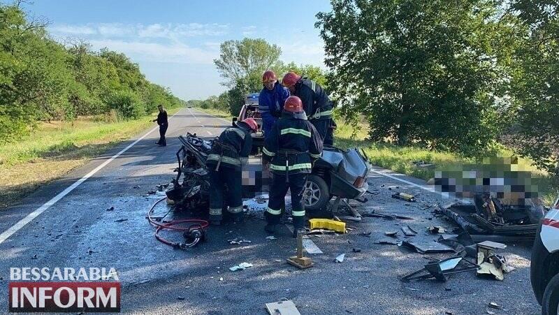У зіткненні легковиків на Одещині 6 загиблих та 3 особи постраждали