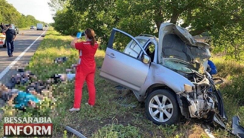 В аварії на Одещині постраждала 2-річна дитина