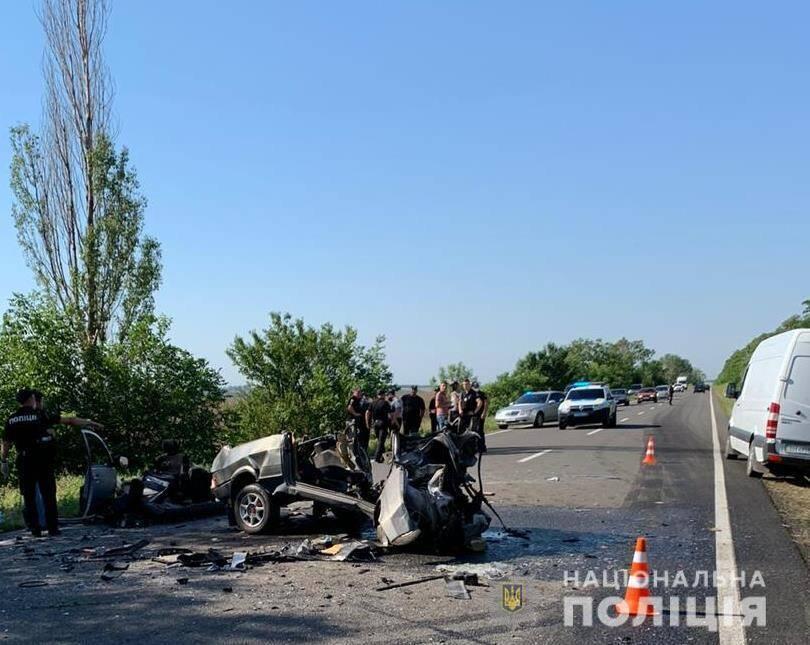 Рух на ділянці траси Одеса – Рені ускладнений через ДТП