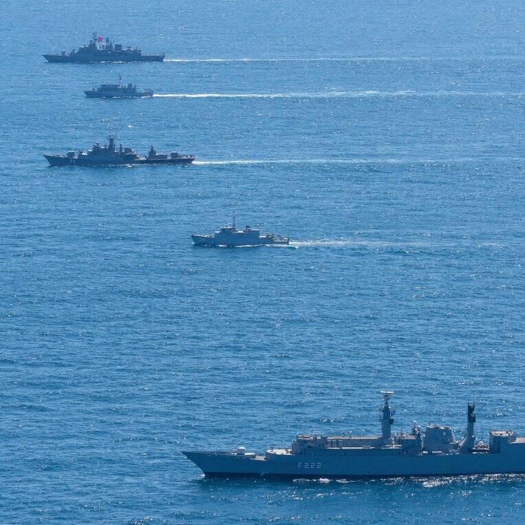В Черном море стартовали учения НАТО Breeze 2020