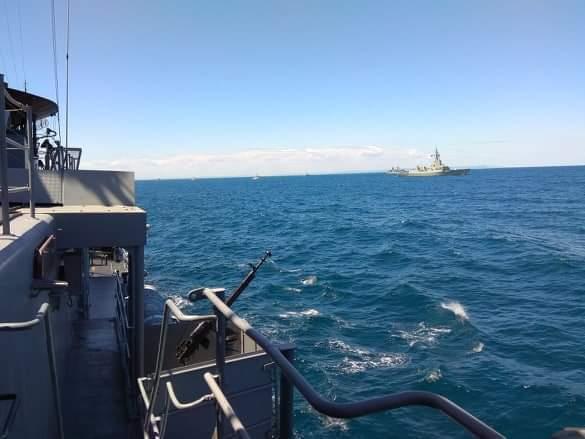 В учениях Breeze 2020 участвует эсминец ВМС США USS Porter