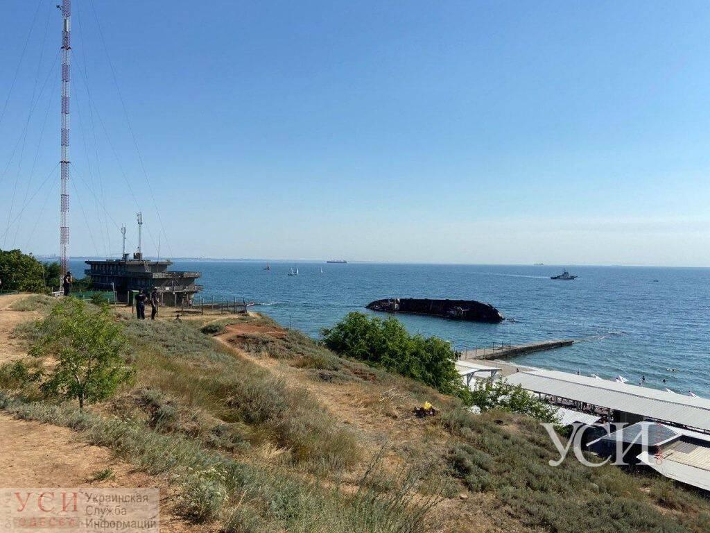 Танкер затонул у побережья Одессы