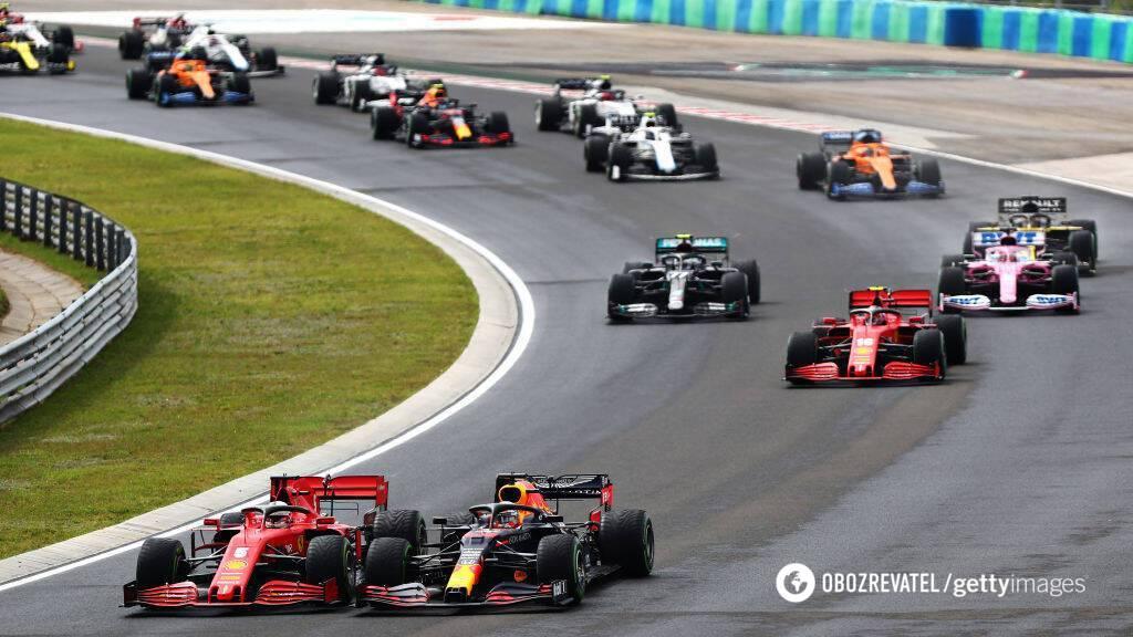 Старт Гран-при Венгрии