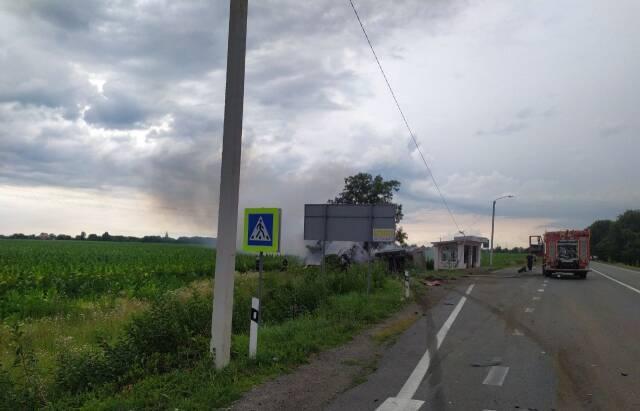 ДТП под Мукачево. Фото - mukachevo.net