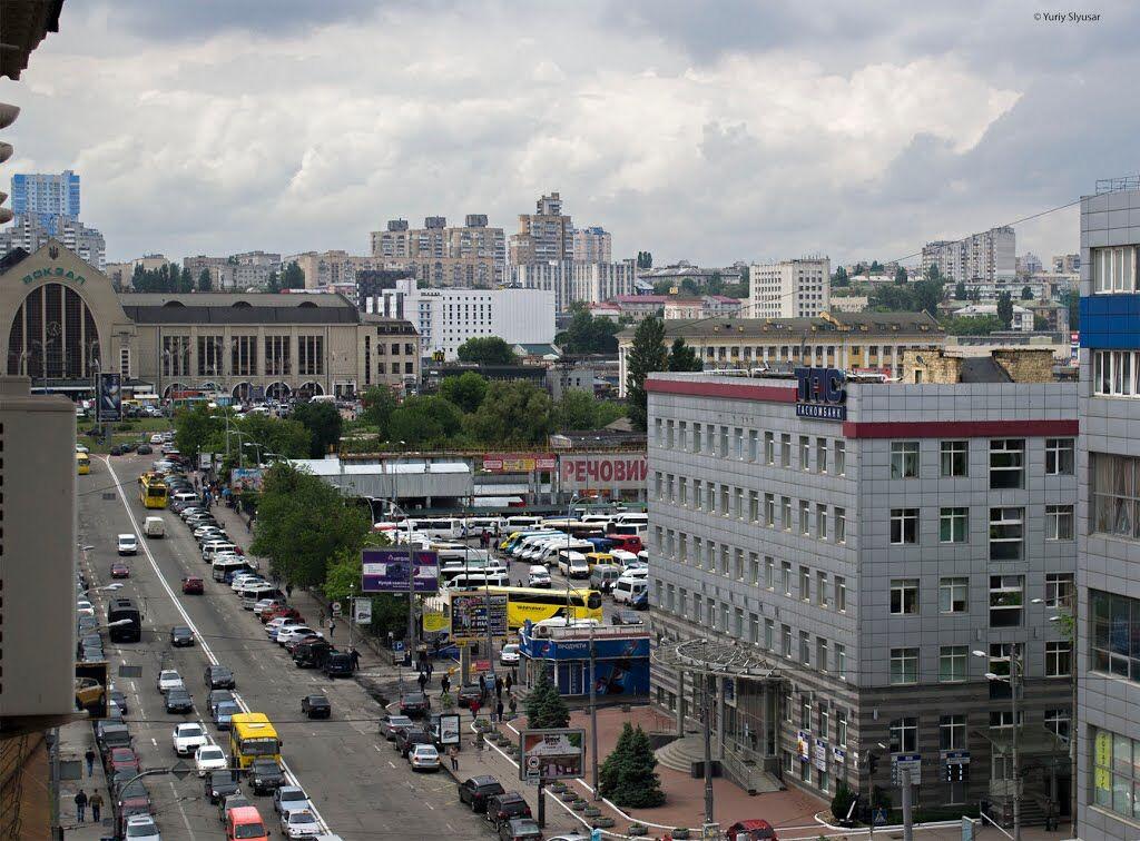 Улица Симона Петлюры в Киеве в современности