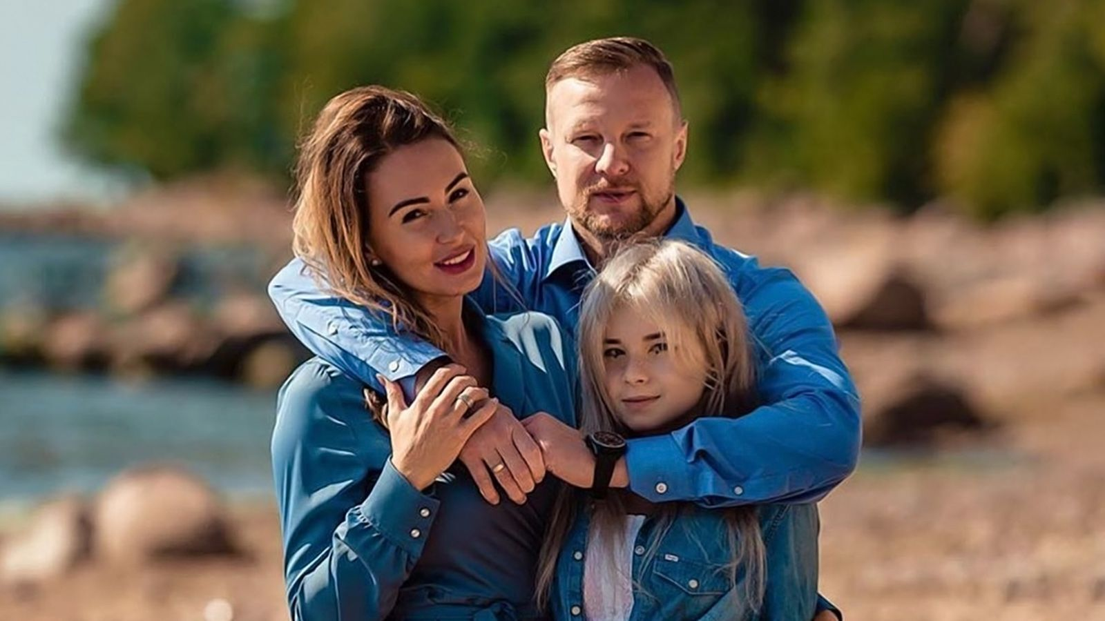 В'ячеслав Малафєєв із сім'єю