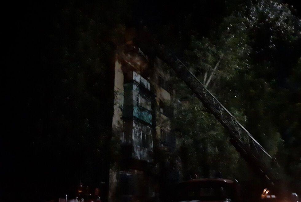 Пожежа в Зеленодольську