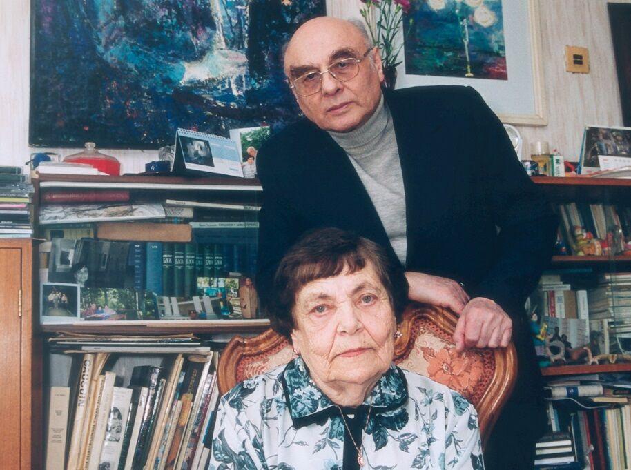 Борис Дубровин вместе с супругой