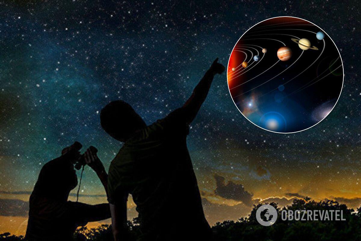 Парад планет можна буде спостерігати упродовж двох тижнів