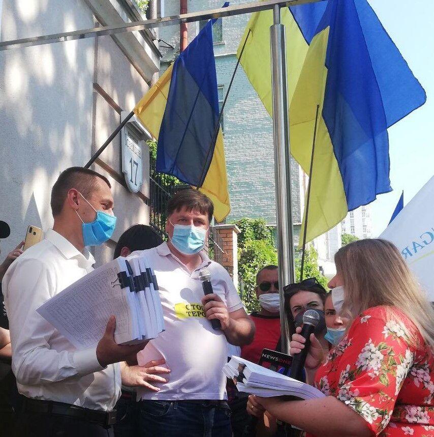 """Укрлендфарминг"" Бахматюка начал бессрочную акцию под САП"