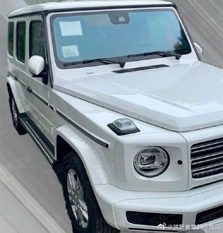 Mercedes-Benz G350;