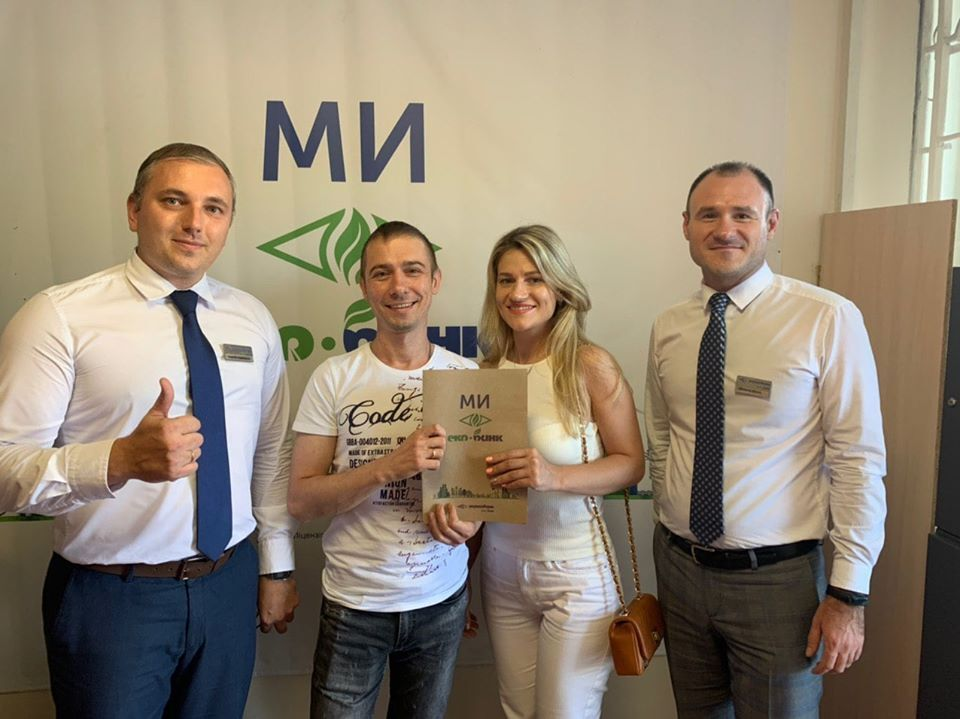В Укргазбанке предоставили первый доступный кредит на жилье в Одессе. Фото счастливых владельцев