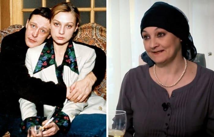 Четвертая супруга Ефремова Ксения Качалина (мать Анны-Марии)