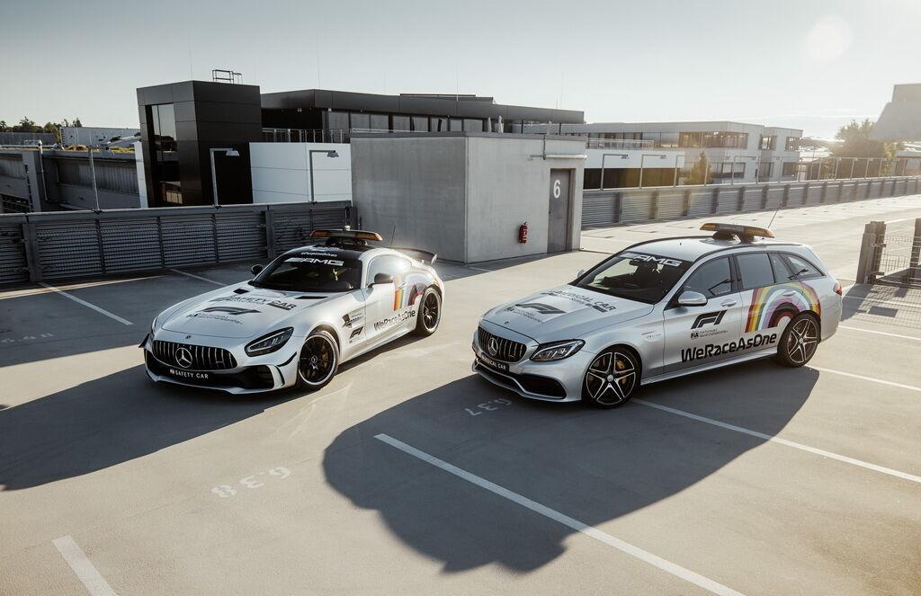 2021 Mercedes-AMG GT R і Mercedes-AMG C 63 S Estate. фото: