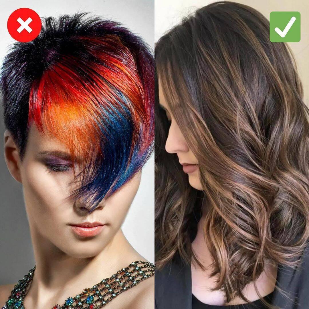 Женщинам после 30 стоит отказаться от красного волос