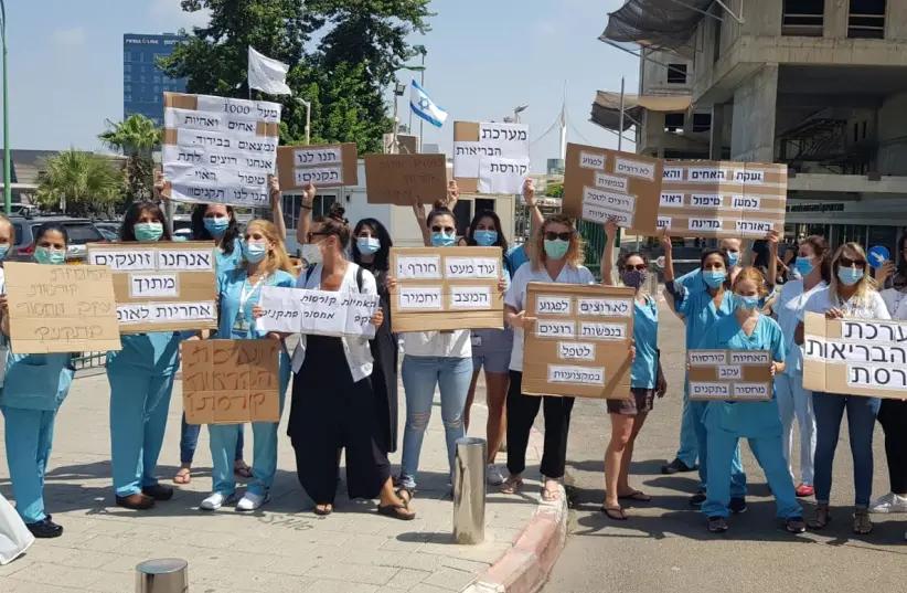 Забастовка медсестер началась в Израиле