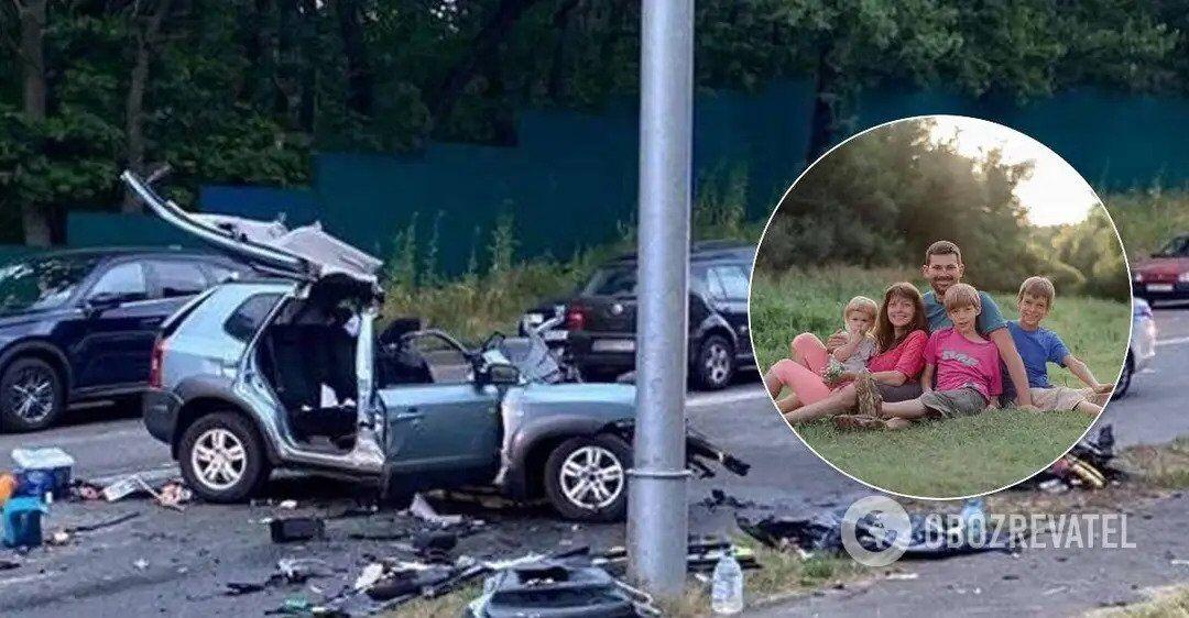 У результаті ДТП на Старообухівській трасі в Києві загинули чоловік із дружиною і двома дітьми