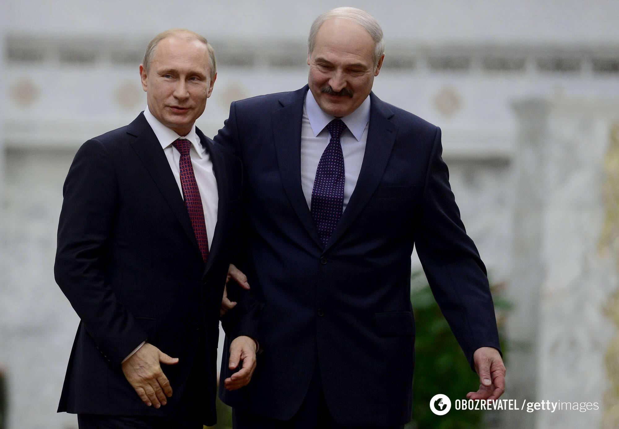 Володимир Путін, Олександр Лукашенко
