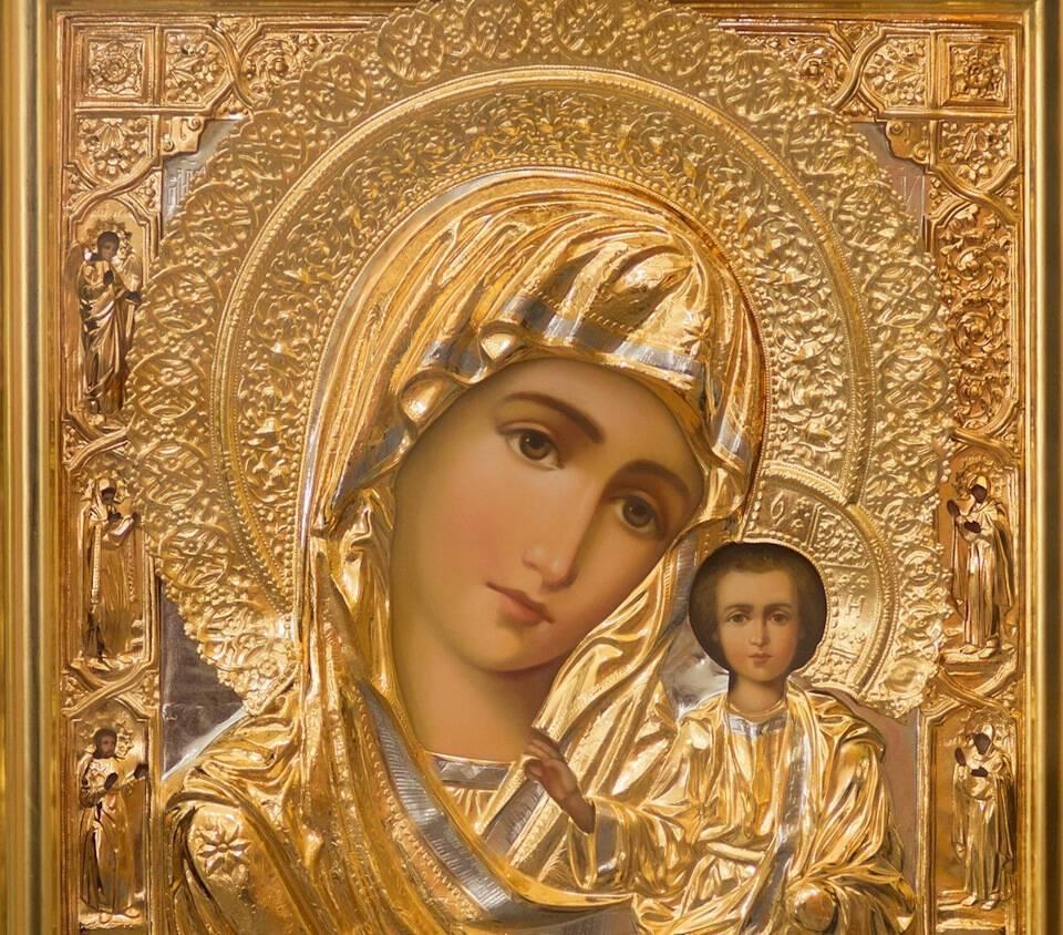 Казанская икона Божией Матери была обретена в 1579 году