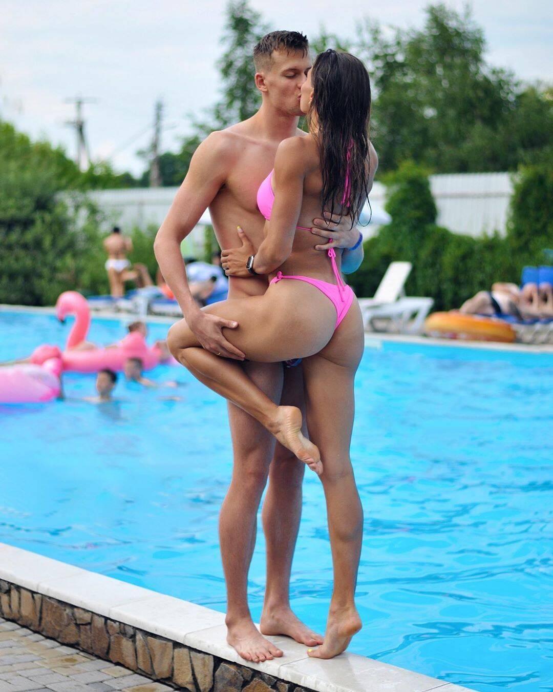 Марина Бех разом з чоловіком Михайлом Романчуком