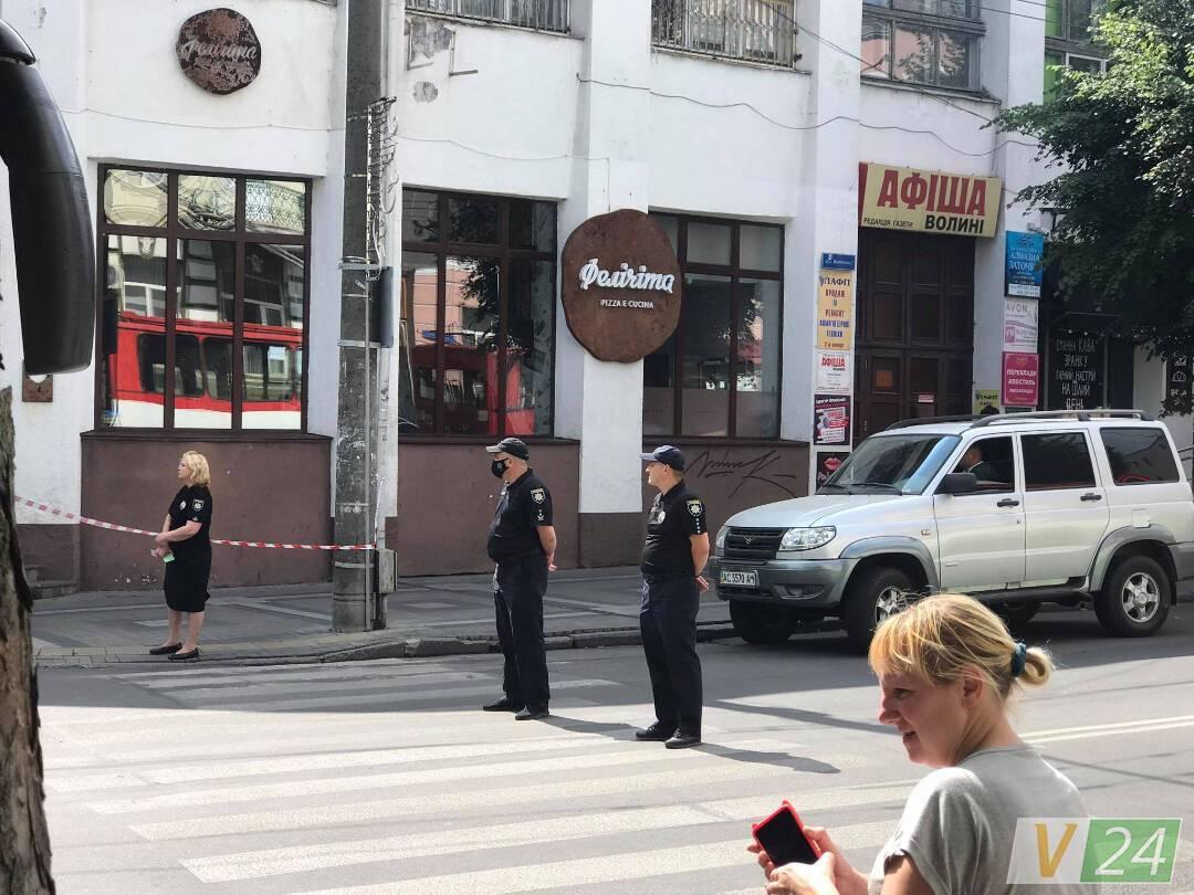Полиция в городе