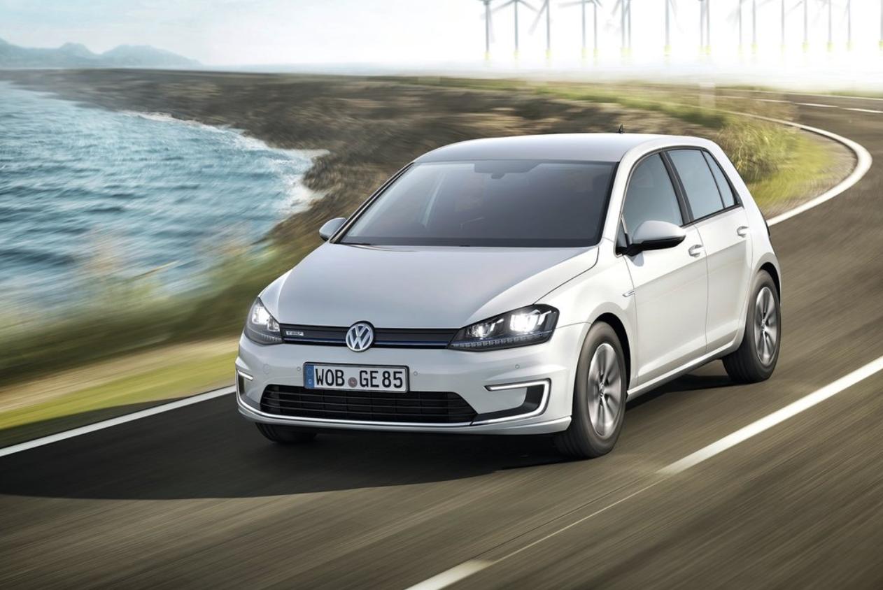 VW e-Golf вошел в пятерку лидеров.