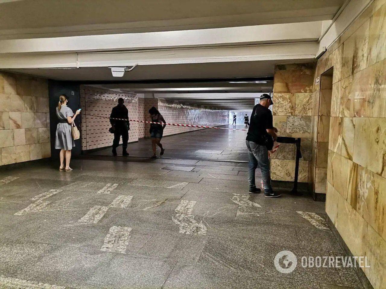 Через повідомлення про мінування в Києві закривають станції метро