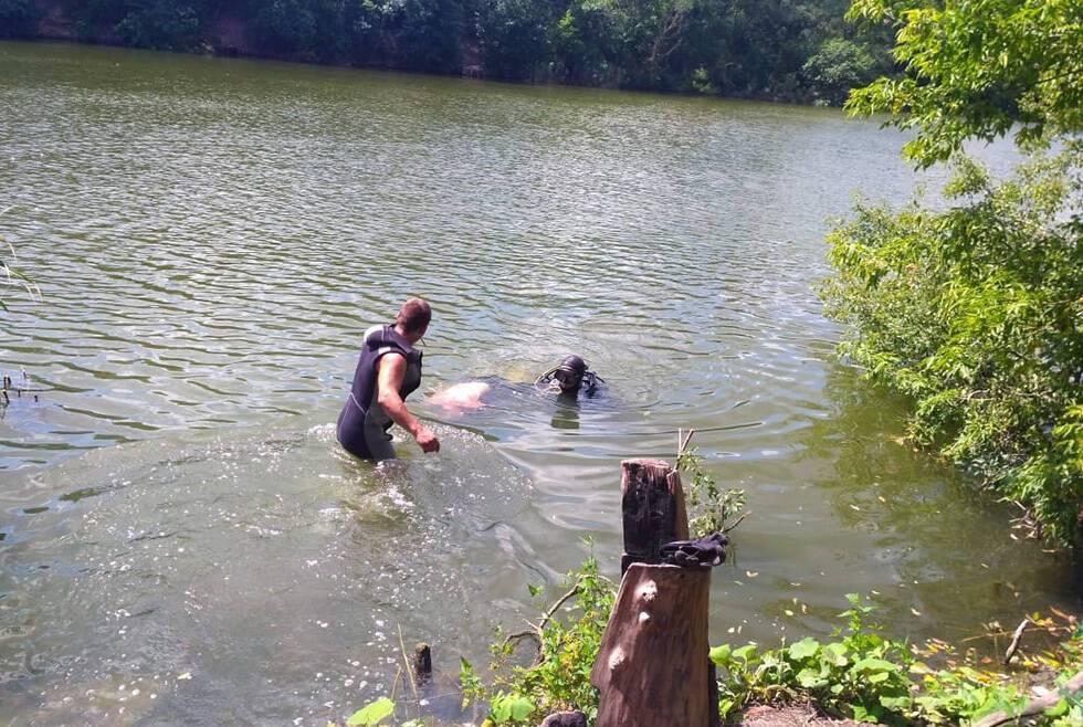 На Дніпропетровщині зниклого чоловіка знайшли потонув у ставку