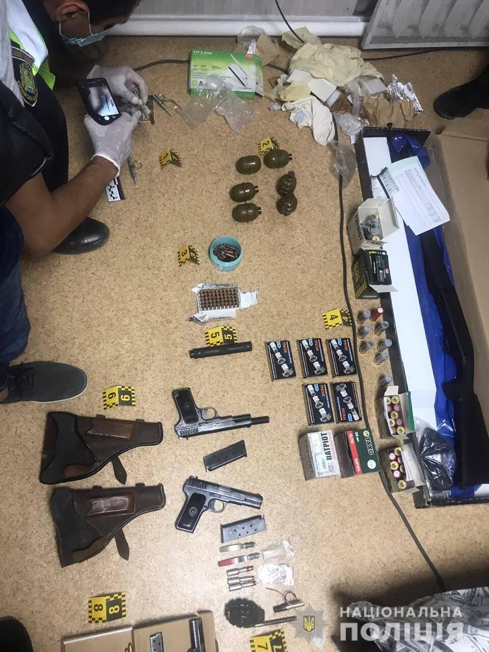 У сообщника террориста в Харькове изъяли боеприпасы