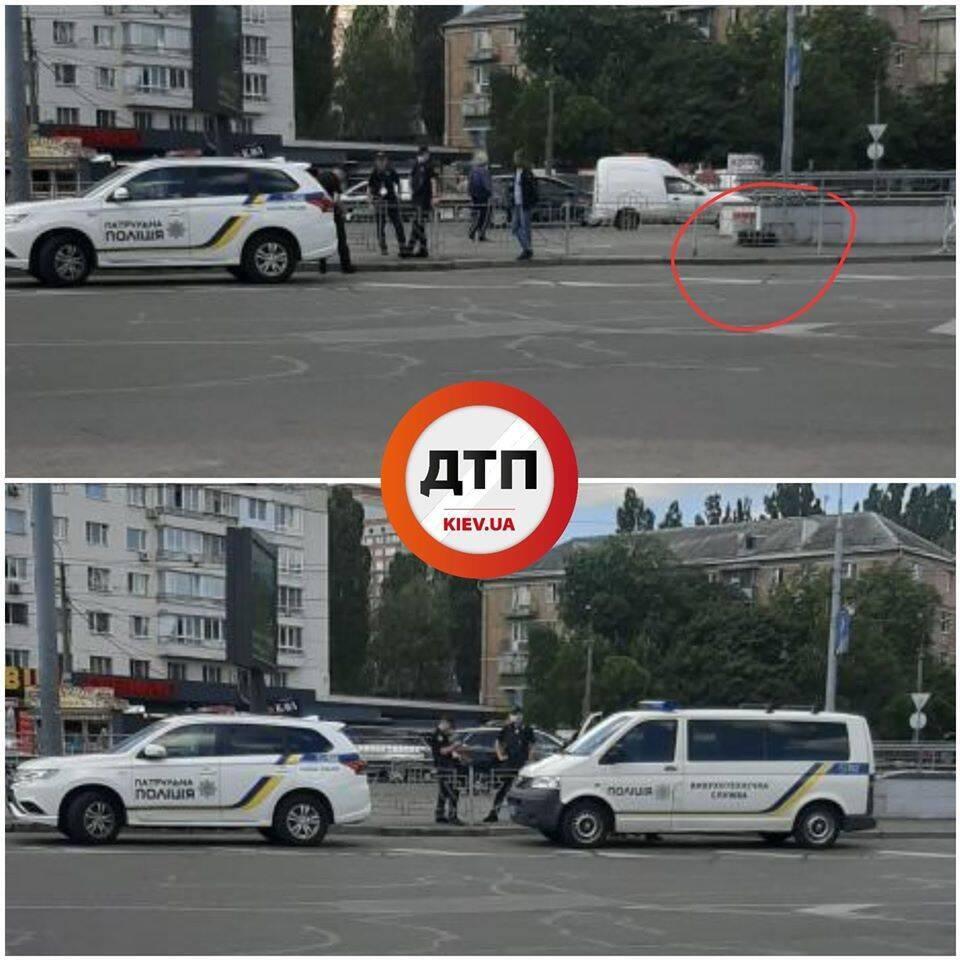 """У Києві знайшли """"підозрілу"""" валізу"""