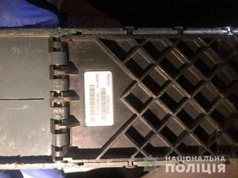 На Київщині викрали платіжний термінал