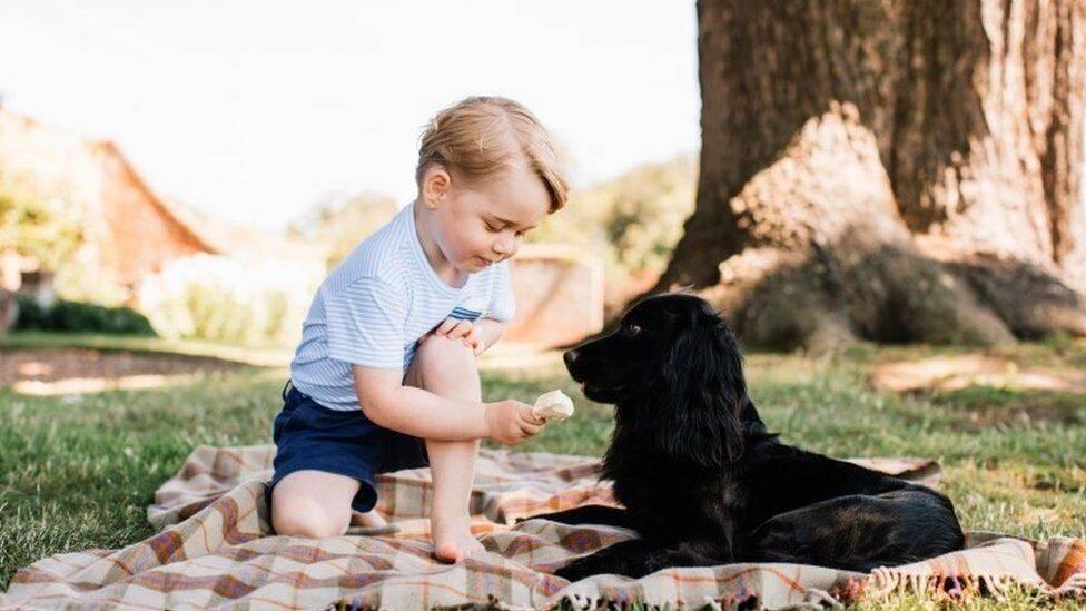 Принцові Джорджу три роки
