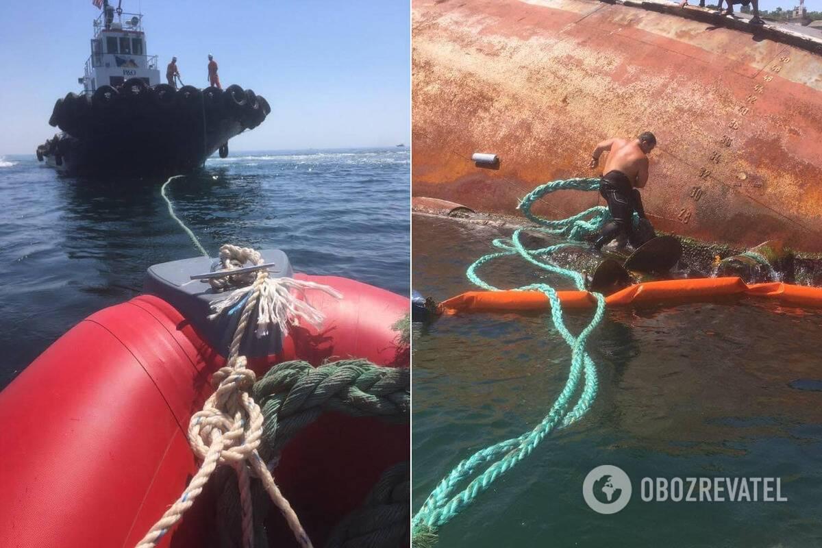 Із Delfi у Чорне море виливаються нафтопродукти
