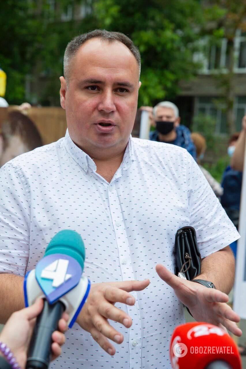 Адвокат Дмитро Кальонов