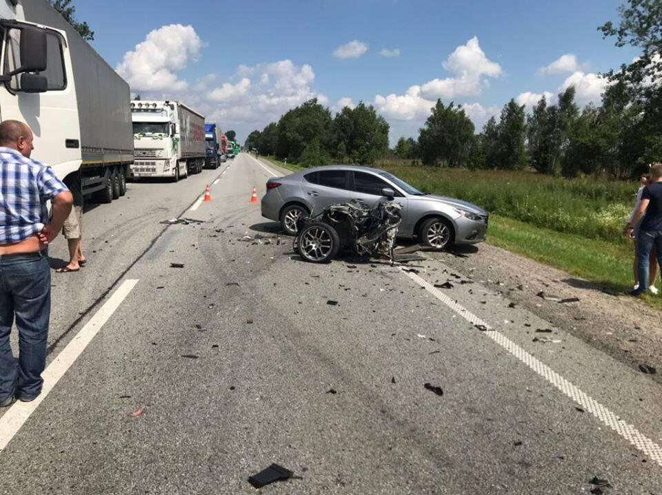 Аварія трапилася 21 липня на автодорозі Київ – Чоп