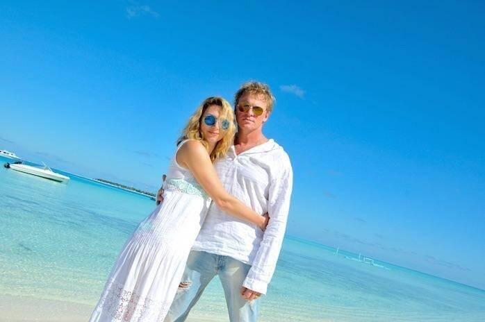 Писаренко с женой