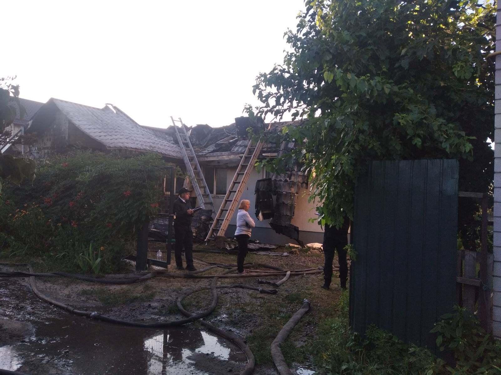Шабунин заявил о поджоге его дома под Киевом