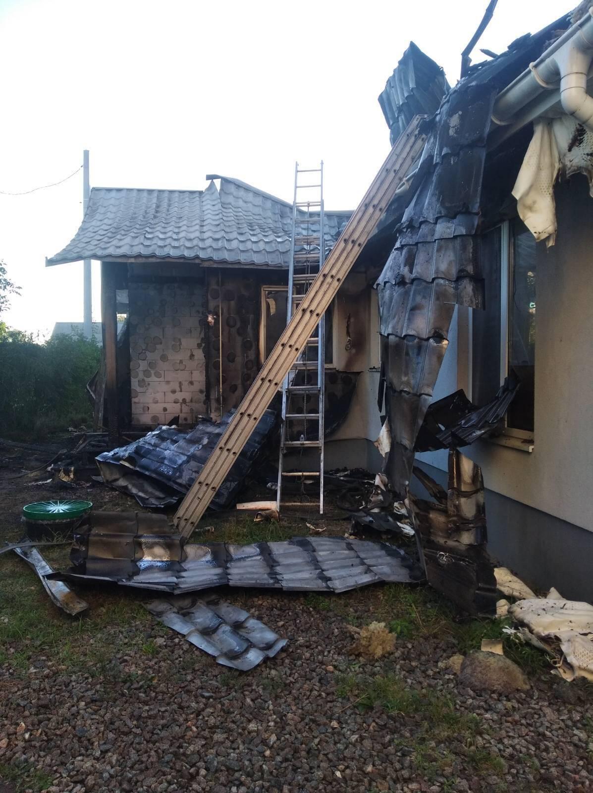 Активист уверен, что его дом на Энтузиастов подожгли умышленно
