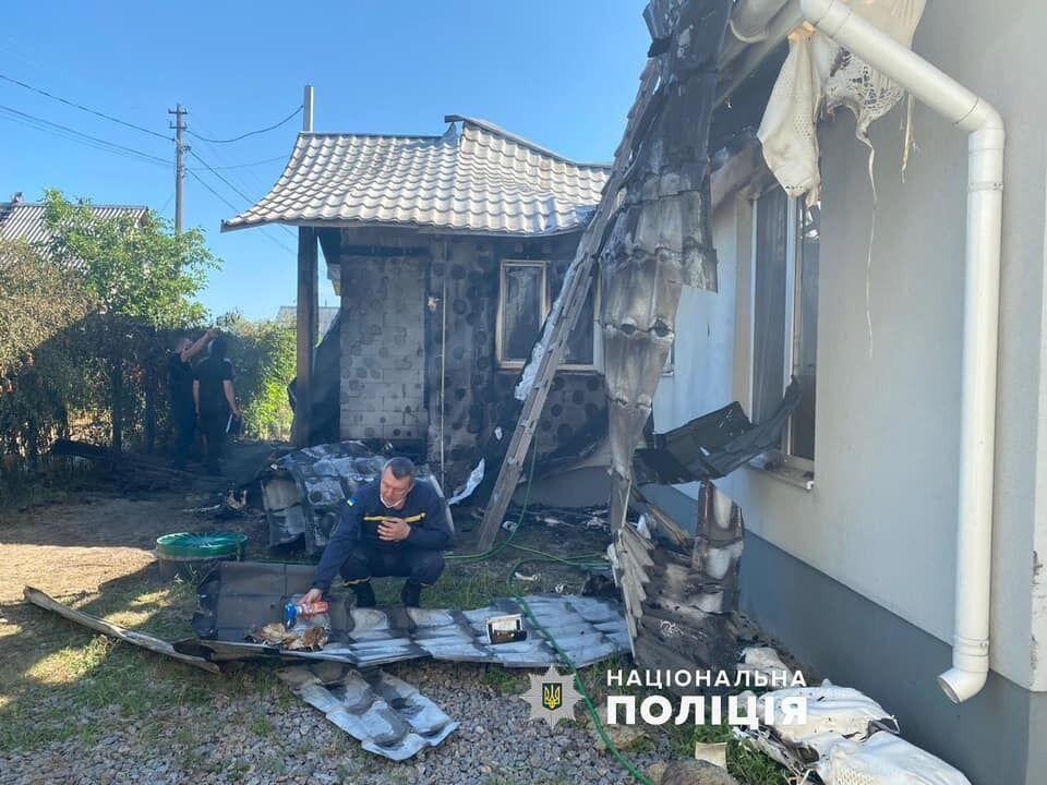 Правоохранители прокомментировали пожар в доме Шабунина