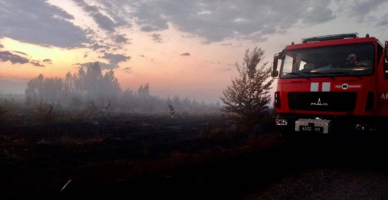 Пожежа в Луганській області трапилася внаслідок обстрілу