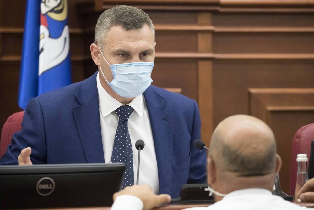 Кличко сказал, что Киевсовет должен принять решения для жизнедеятельности столицы в условиях пандемии