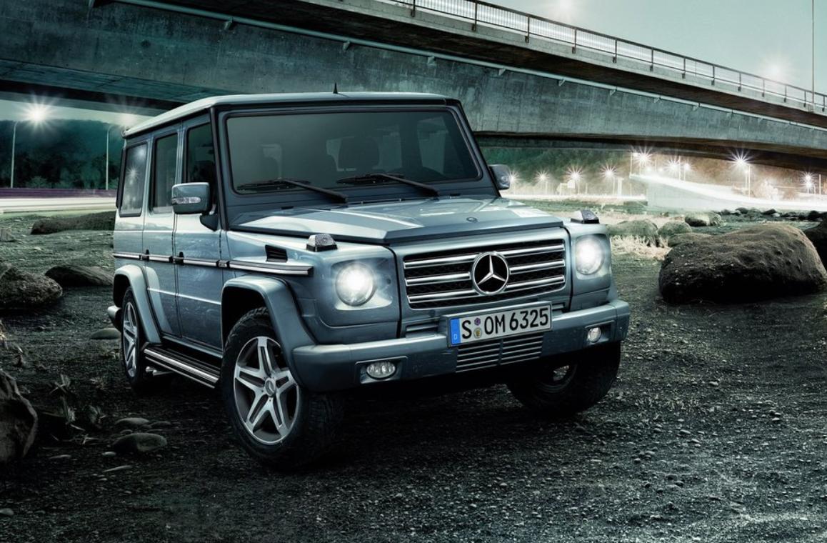 Mercedes G-class.